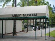 Army Museum entrance - Honolulu