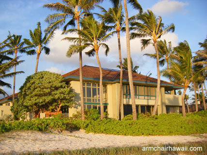 hawaii beach house. Rental each house in Kailua