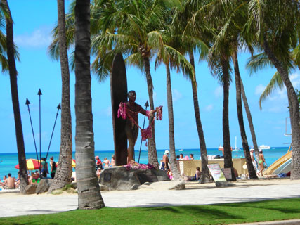 Waikiki Beach Live Camera Duke - Collections Photos Camera