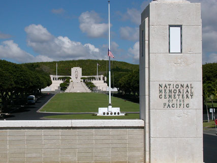 5Punchbowl National Cemetery